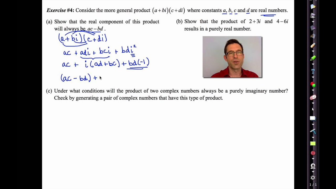 4 unit maths complex numbers Chapter 4 complex numbers, c  complex numbers so that jzj = 1 is the unit circle in the plane  math 6101-090 fall 2006 52 chapter 4 complex numbers, c.