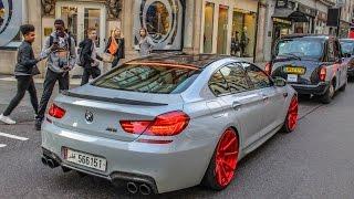 Manhart BMW M6 w/Akrapovic Exhaust - Stratups, Revs & Launch