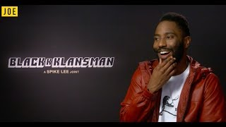 BlacKkKlansman star John David Washington on Charlottesville and that incredible scene