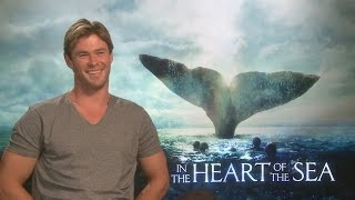 Chris Hemsworth talks getting 'hangry' during In the Heart of the Sea