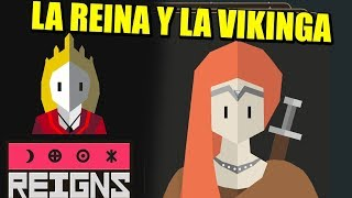 TROLEANDO, LA VIKINGA Y EL LABERINTO - REIGNS HER MAJESTY #3 | Gameplay Español- VICIO ONE MORE TIME