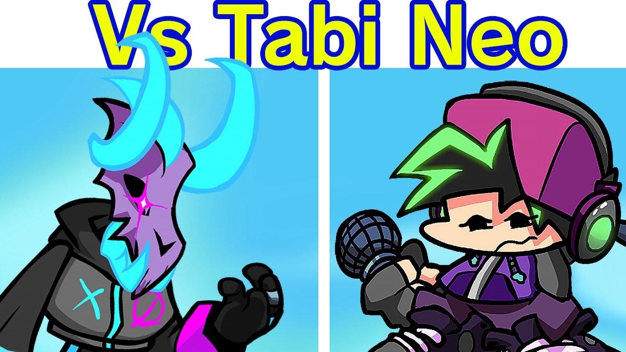 Friday Night Funkin' - VS Tabi Neo Semana Completa + Escenas (Tankman)