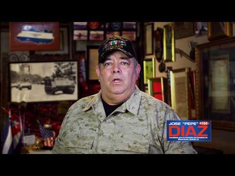 """Jose """"Pepe"""" Diaz - Candidato para la Comisión del Condado de Miami-Dade, Distrito 12"""