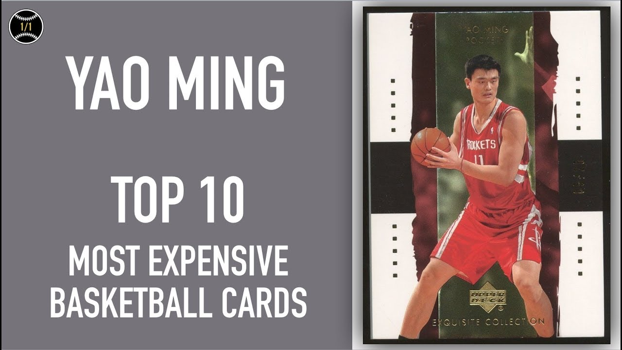 best sneakers 3d33d d3352 Yao Ming: Top 10 Most Expensive Basketball Cards Sold on Ebay (November -  January 2019)