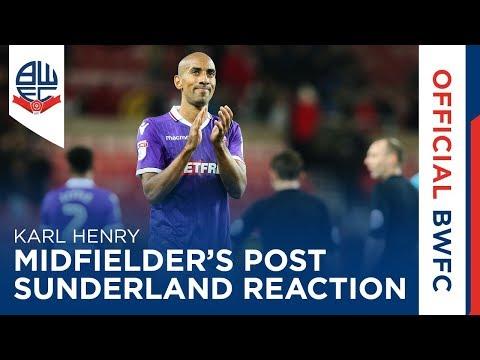 KARL HENRY | Midfielder's post-Sunderland reaction