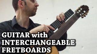Microtonal Guitar (Interchangeable Fretboard)