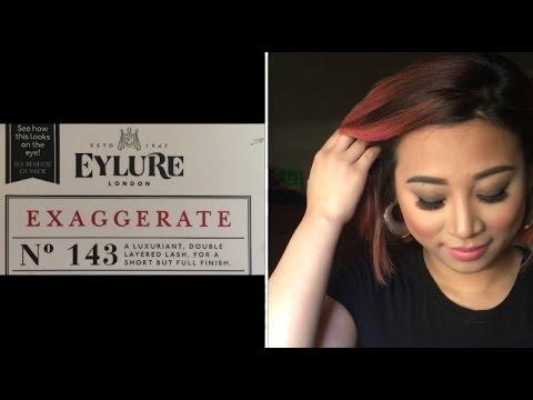 7f3bc2c4f32 Eylure Exaggerate 143 eyelash review - YouTube