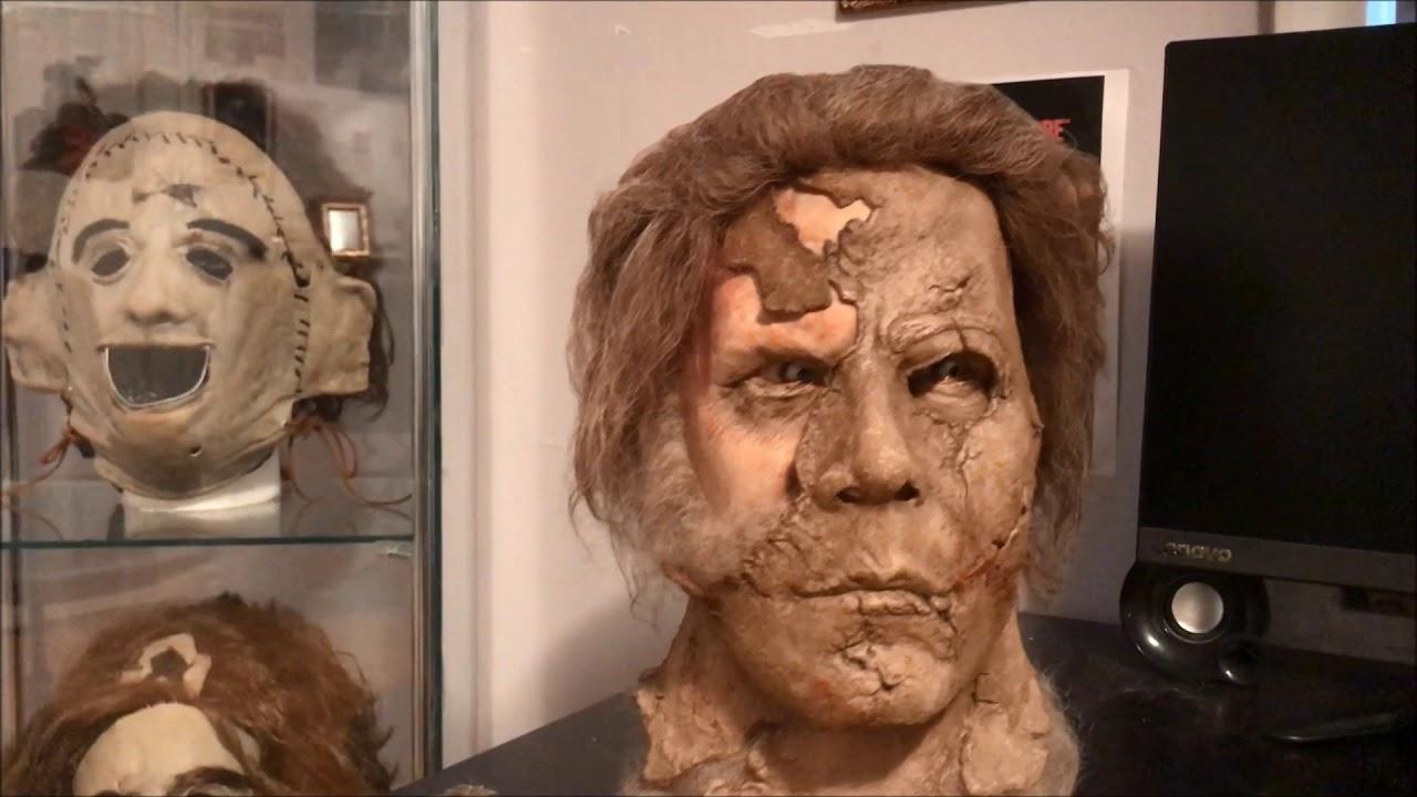 Halloween 2 Rob Zombie Mask.Halloween 2 Rob Zombie Dela Torre Dark Half Myers Mask Unboxing
