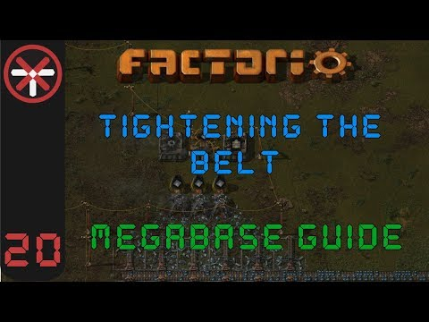 Factorio: Tightening The Belt: Megabase Guide EP20 - URANIUM PROCESSING | Tutorial Gameplay Series