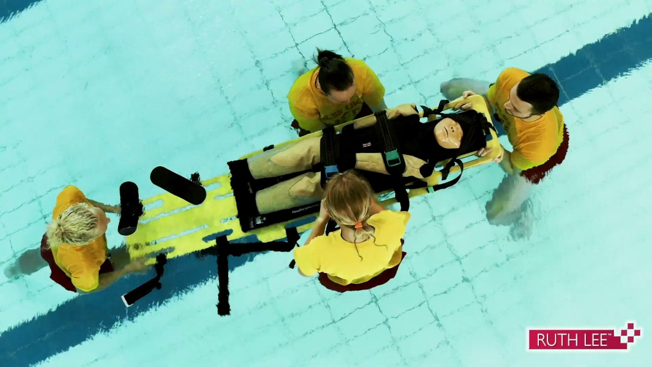 Ruth Lee Ltd Pool Rescue manikin - Available World-wide through a network  of Distributors