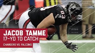 Matt Ryan's 50-Yard Bomb to Julio Jones & Jacob Tamme's TD Grab | Chargers vs. Falcons | NFL