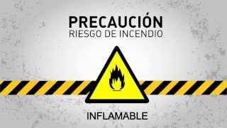 Precaución riesgo de incendio