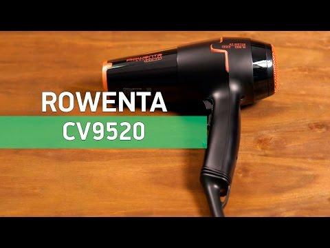 Rowenta CV9520 - профессиональный фен с концентратором - Видео демонстрация