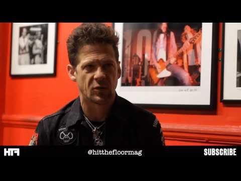 Jason Newsted Interview - London - June 2013