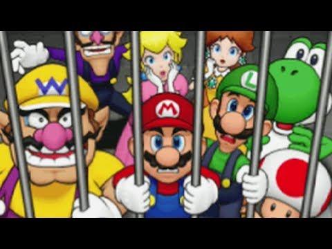 Mario Party DS - Story Mode: Part 1 - Wiggler's Garden!