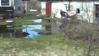 ловля щуки в разлив весной