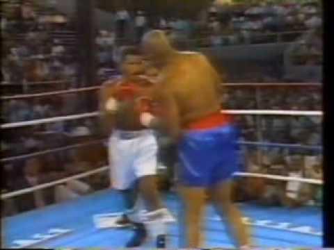 Maguila contra George Foreman - luta completa - transmissão do SBT
