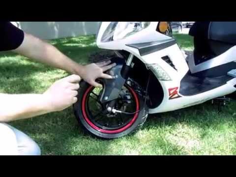 SPZMotorSports-150cc Phantom GTX Scooter $1299 Motobravo Likie