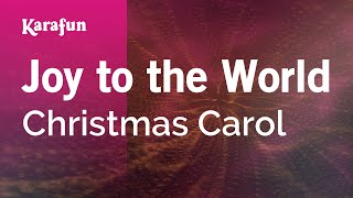 Karaoke Joy to the World - Christmas Carol *