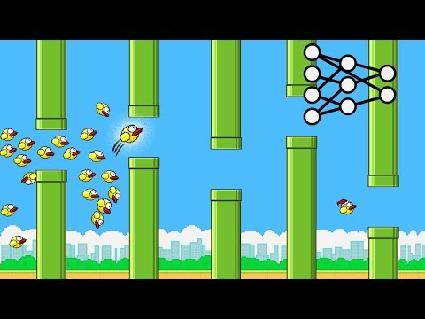 A.I. Learns to play Flappy Bird