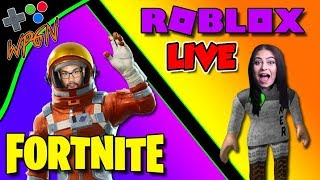 Roblox Jailbreak + Fortnite Live 🔥 Subs Play LIve