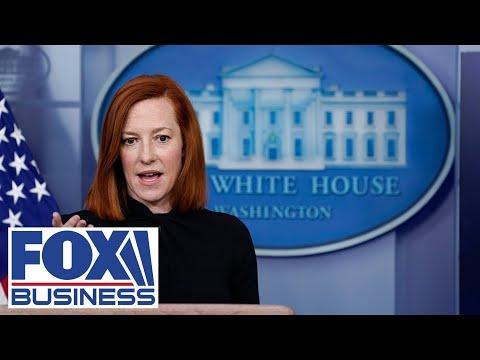 White House press secretary Jen Psaki holds a briefing   4/1