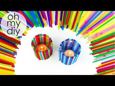 DIY Life Hack With Drinking Straws! Easy Crafts And DIY Projects Everyone Should Try!