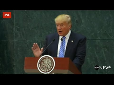 Trump FULL Speech From Mexico