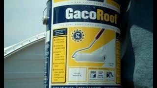 gaco roof coating