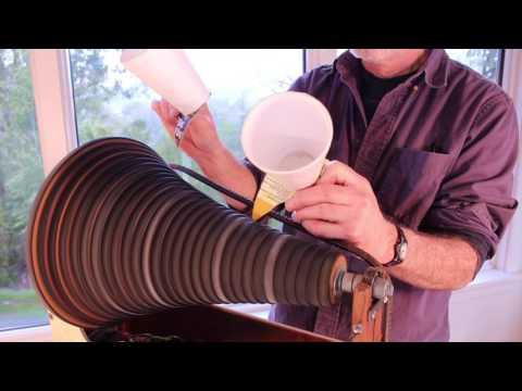 Savart's Wheel, a musical instrument by Bart Hopkin