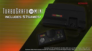 TurboGrafx-16 mini: Features Video