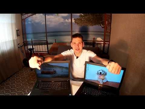 Раньше было лучше!? | Acer Aspire E5-774g Vs Dell Precision M6800