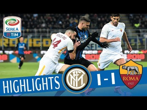 Inter - Roma 1-1 - Highlights - Giornata 21 - Serie A TIM 2017/18