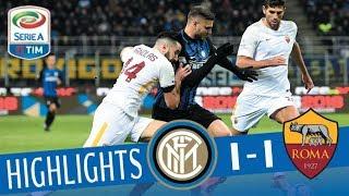 Inter - Roma 1-1 - Highlights - Giornata 21 - Serie A TIM 2017/18