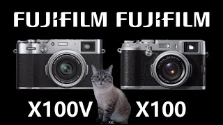 FUJIFILM X100V vs FUJIFILM X100 and The Milky Way