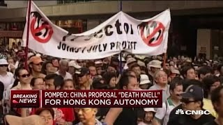 Hong Kong Activists Call For Protests In Response To Chinese Security Proposal