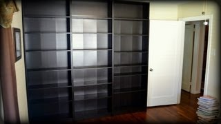 Building Ikea Billy Bookcases - Construction Time-lapse