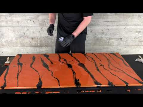 DIY Tiger Stripes | Epoxy Techniques