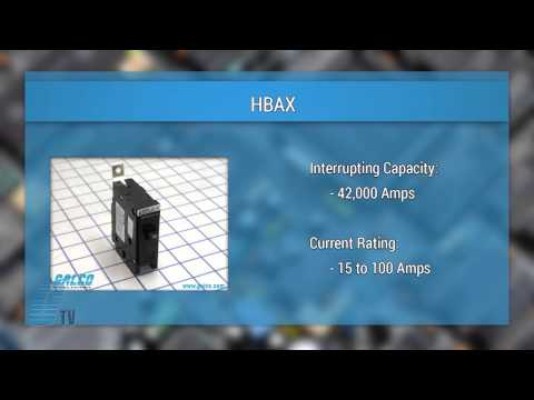 """Eaton Cutler Hammer """"Bolt-On"""" Series Miniature Circuit Breakers - A GalcoTV Overview"""