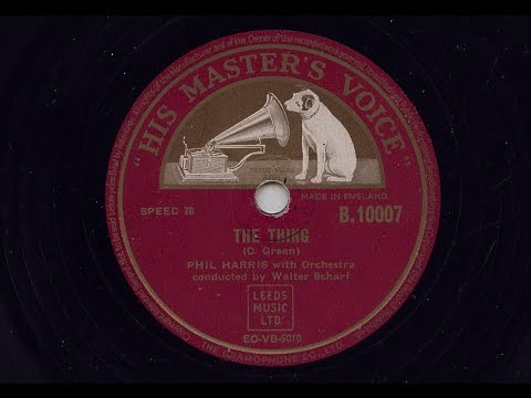 Phil Harris 'The Thing' 1950 78 rpm