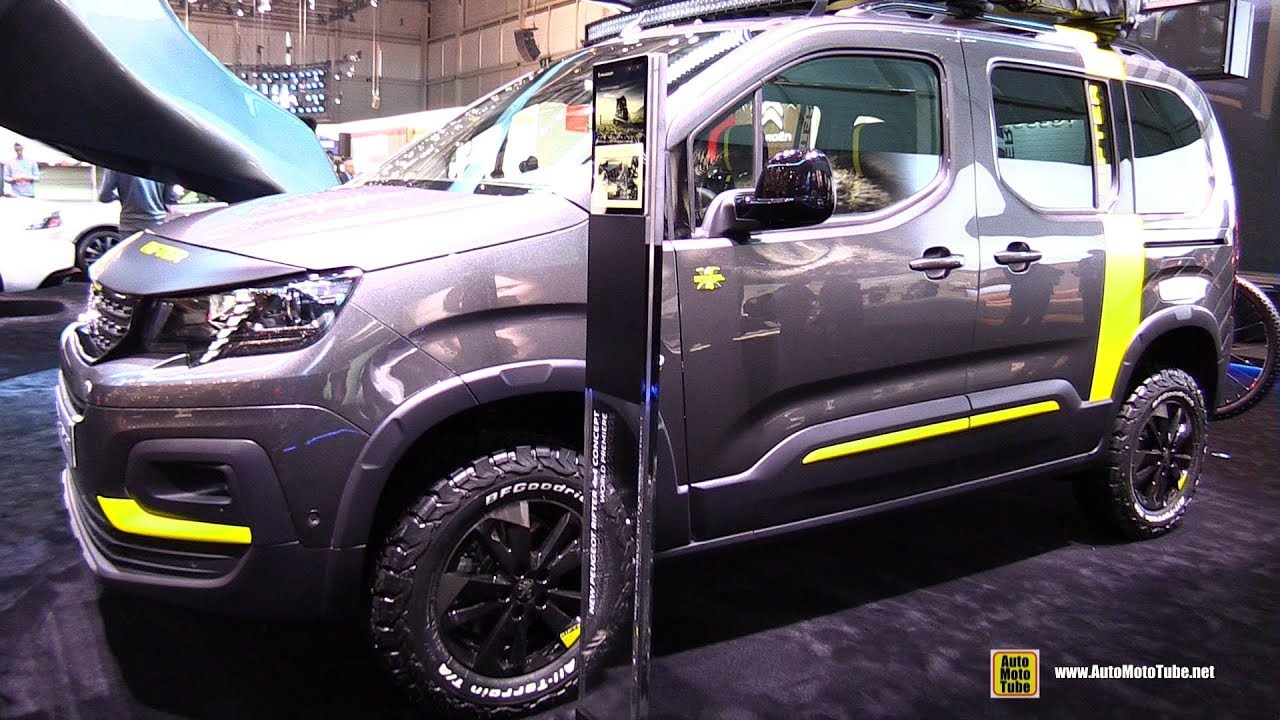 2019 peugeot rifter 4x4 concept exterior and interior. Black Bedroom Furniture Sets. Home Design Ideas