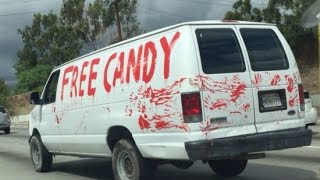 free candy the derby van!!! what to do with this monster van