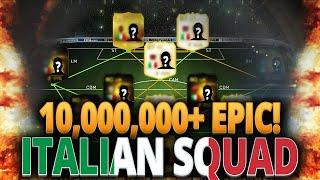 EPIC 10,000,000+ COINS ITALIAN SQUAD FIFA 15 ULTIMATE TEAM