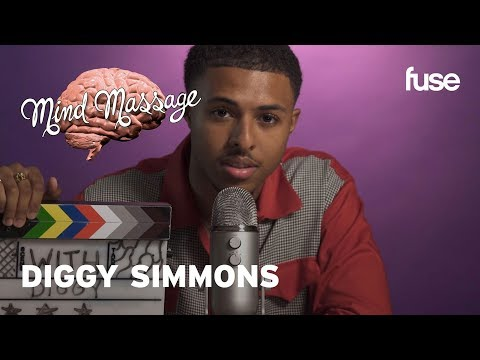 Diggy Simmons Does ASMR Talks Vintage Fashion Staying Zen and It Is What It Is  Mind Massage