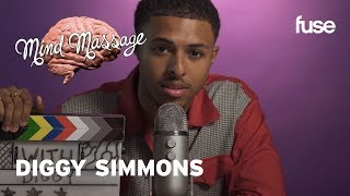 Diggy Simmons Does ASMR, Talks Vintage Fashion, Staying Zen and 'It Is What It Is' | Mind Massage