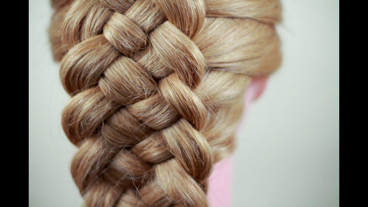 Учиться плести волосы