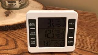 Wireless Refrigerator Thermometer Review