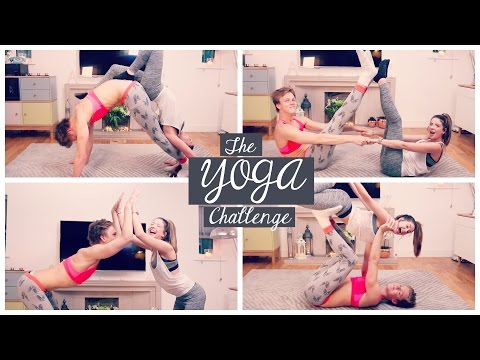 Thumbnail: The Yoga Challenge with Caspar Lee | Zoella