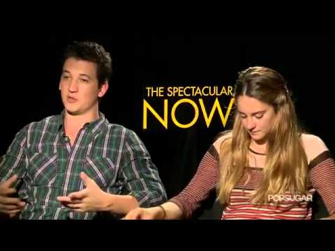 The Spectacular Now's Shailene Woodley and Miles Teller   We're Polar Opposites