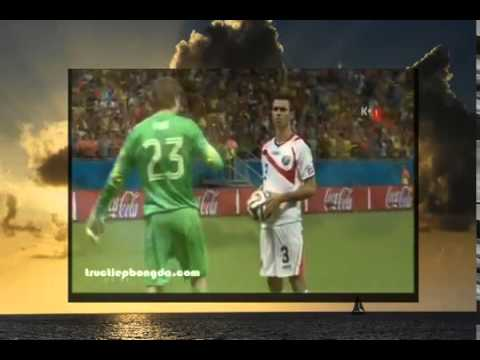 Tim Krul saved Holland in the pelnaty shoot out, World Cup 2014 Netherlands vs. Costa Rica